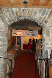 Alba Vineyards - Tasting Room Entrance / Photo: Marguerite Barrett