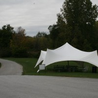 Tent at Satek Winery