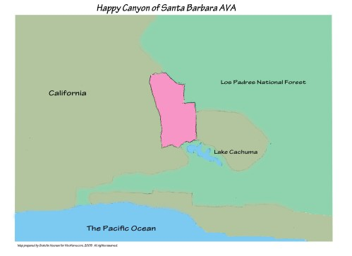 Happy Canyon of Santa Barbara