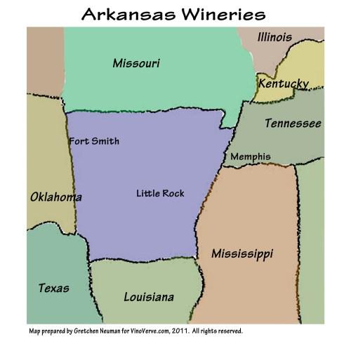 Arkansas Wineries