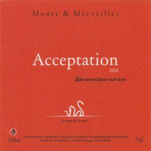 Etiquette Acceptation 2018