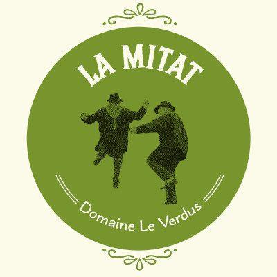 LA MITAT Blanc 2018 du domaine Le Verdus