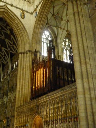 巨大的管风琴,大教堂的必备品