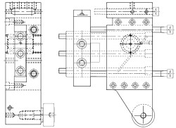 6x0 R Coil Tool Holder Left/Right