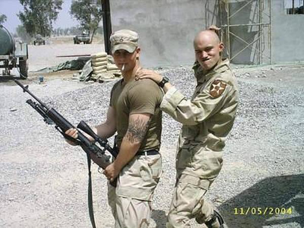 random hot military men