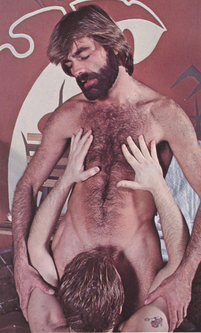 Bob Blount vintage gay hot daddy dude men porn bathhouse