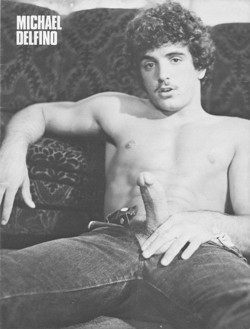 Michael Delfino vintage gay hot daddy dude men porn