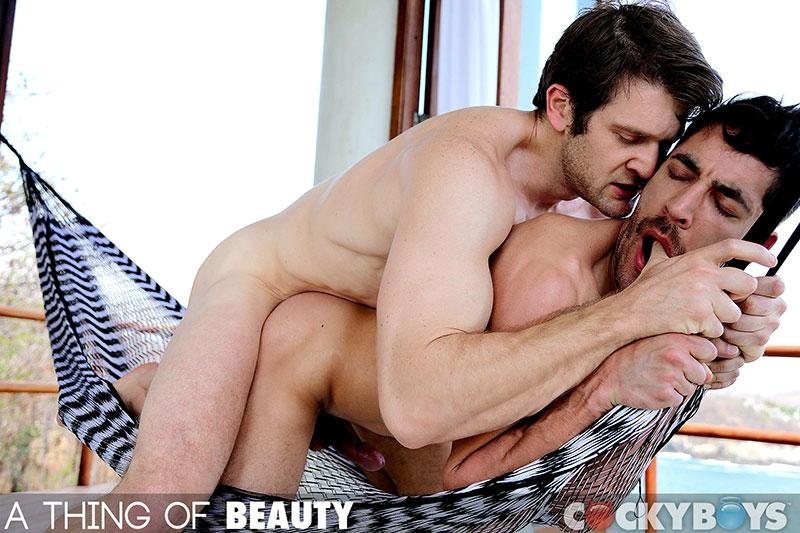 Colby Keller fuck Dale Cooper gay hot daddy dude men porn Thing of Beauty