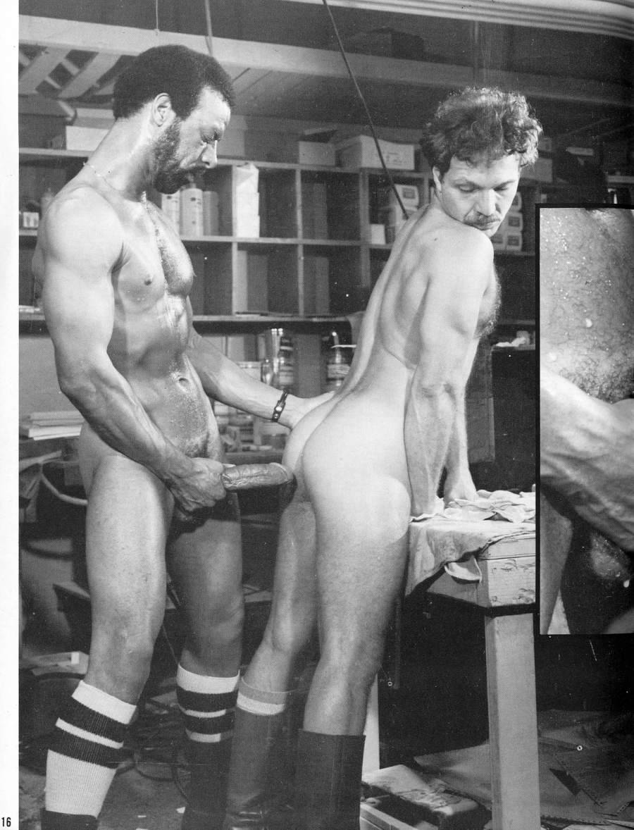 vintage gay hot daddy dude men porn fuck Mike and Nick