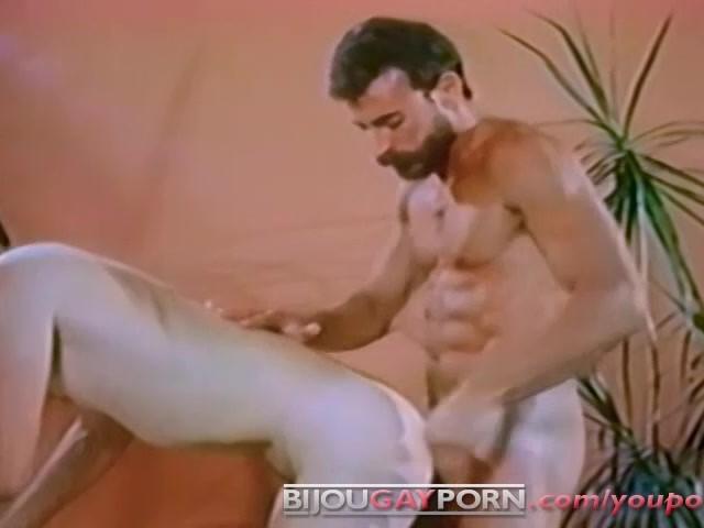 Al Parker fuck Kirk Mannheim vintage gay hot daddy dude men porn Flashback