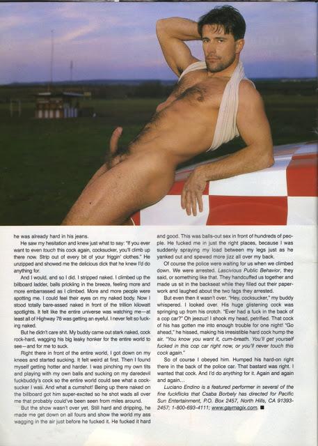 Luciano Endino gay hot daddy dude men porn
