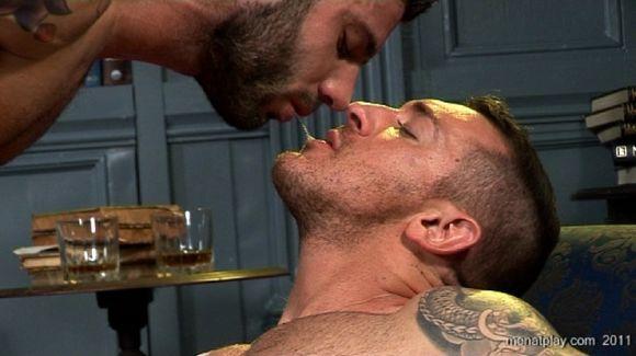 Alex Marte Francesco D'Macho flip fuck gay hot daddy dude porn Men At Play Italians