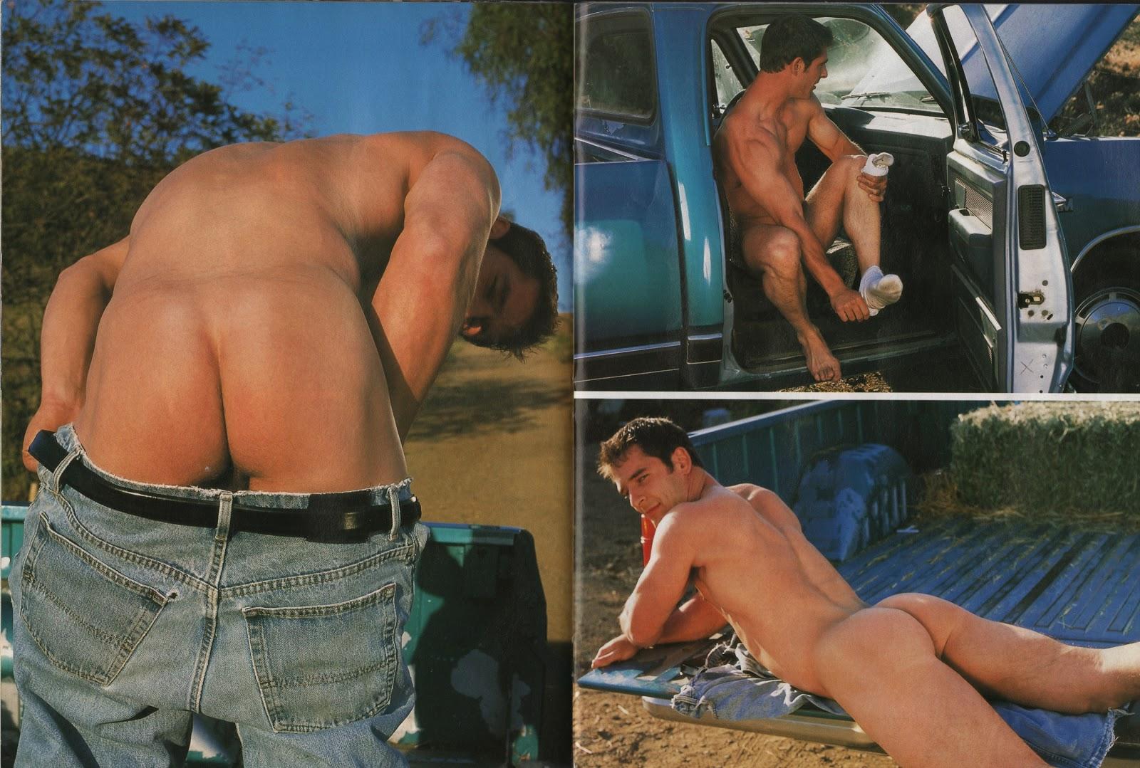 Clay Maverick gay hot daddy dude men porn