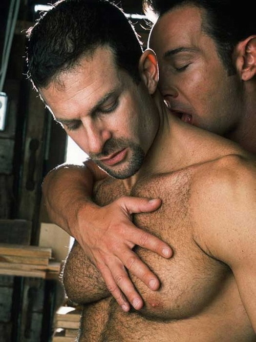 Ted Matthews fuck Mike Vista hot gay daddy dude men porn