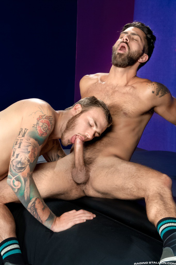 Christian Wilde fuck Adam Ramzi gay hot daddy dude men porn Tight