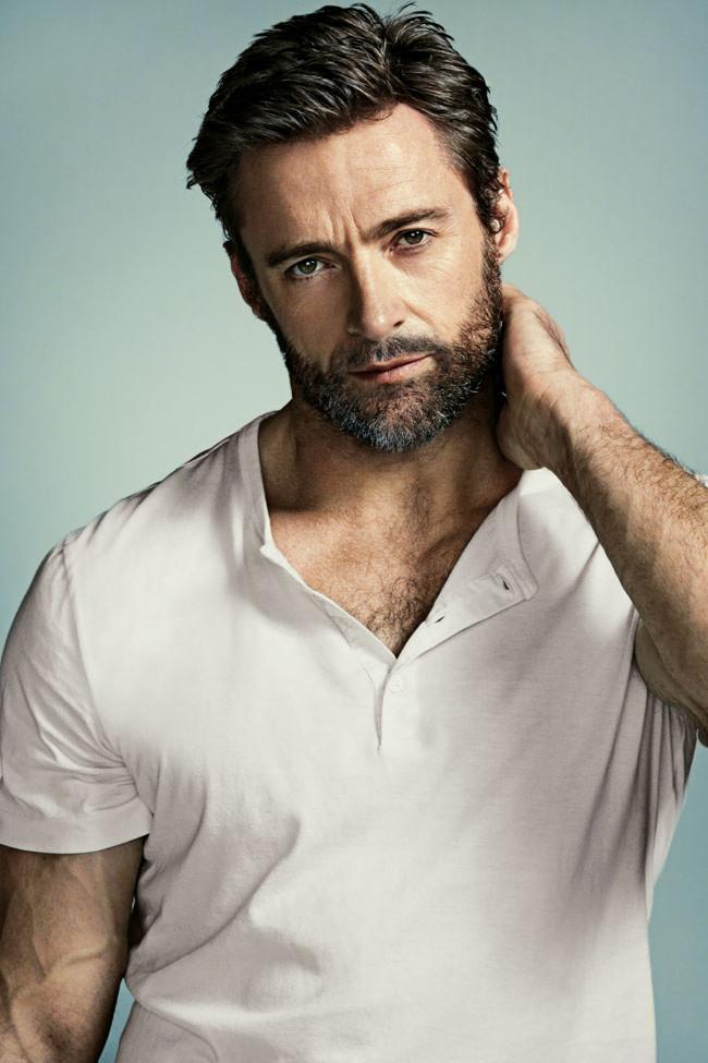 Hugh Jackman gay hot sexy daddy dude men