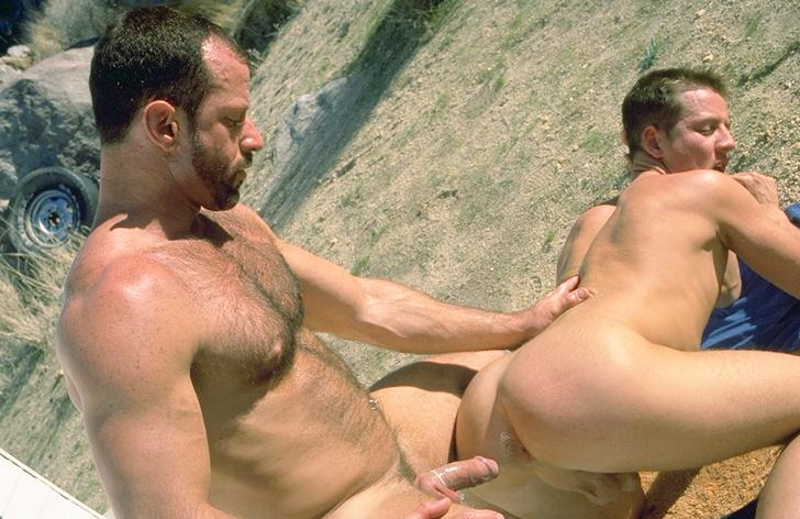 Austin Masters fuck Nick Young gay hot daddy dude men porn