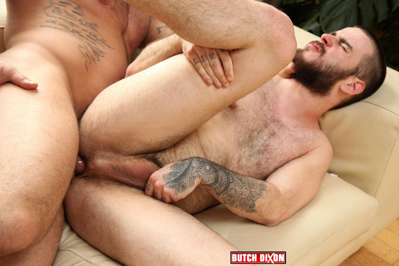 Alex Marte fuck Kris Irons gay hot daddy dude men porn Butch Dixon