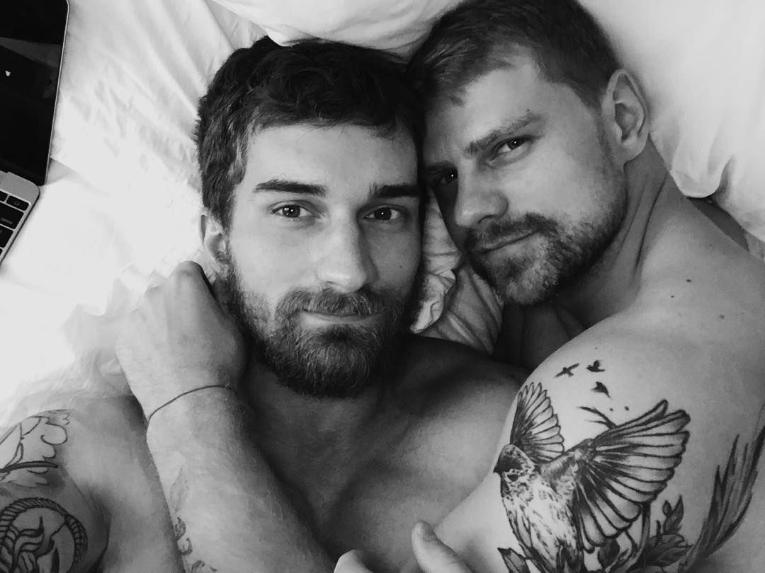 Alexander Abramov Andrew Serkin gay hot daddies dudes men