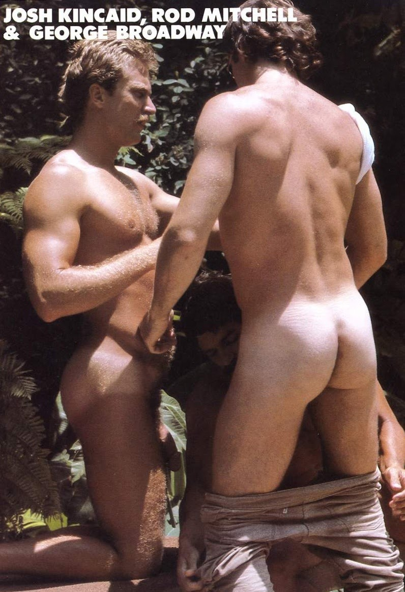Rod Mitchell George Broadway Josh Kincaid gay hot vintage daddy dude men porn