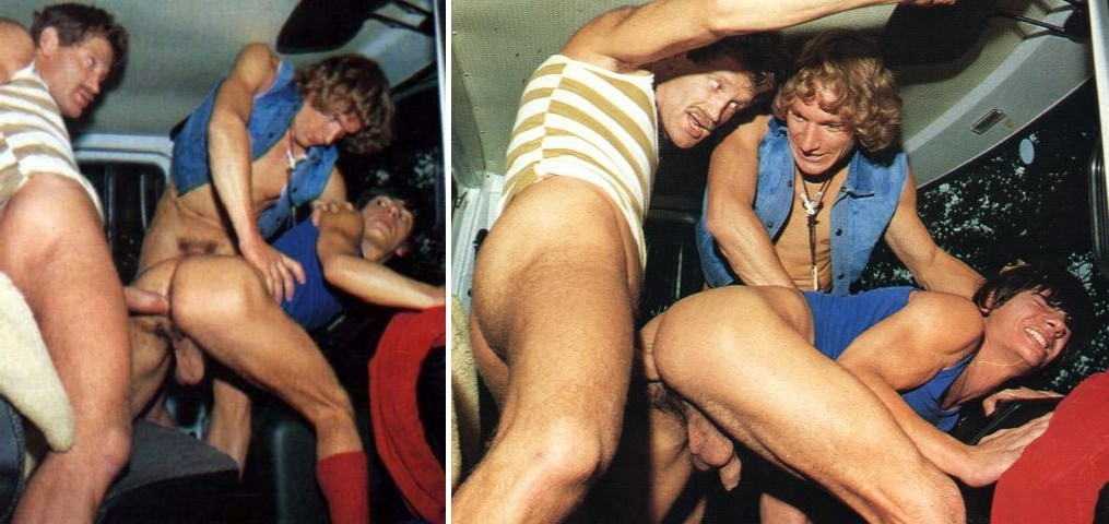 Diego and the Truckers vintage gay hot daddy dude men porn
