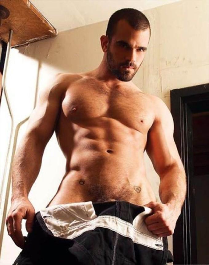 Damien Crosse gay hot daddy dude men porn