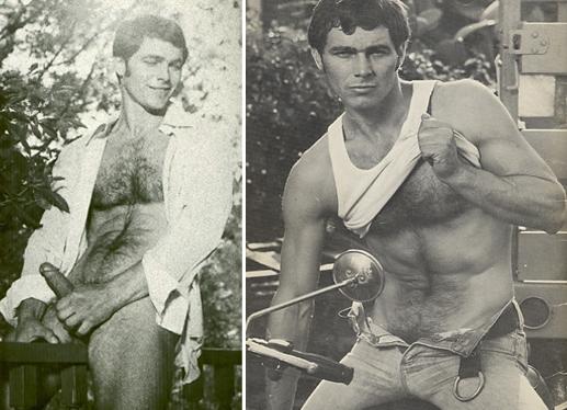Mike Davis vintage gay hot rugged daddy dude men porn