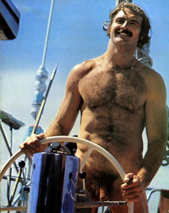Lou Zivkovich vintage gay hot daddy dude men porn Playgirl