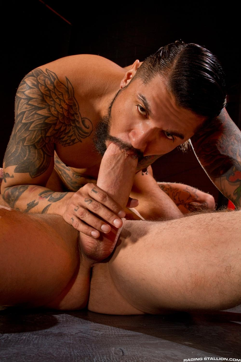 Boomer Banks fuck Rocco Steele gay hot daddy dude men porn clusterfuck