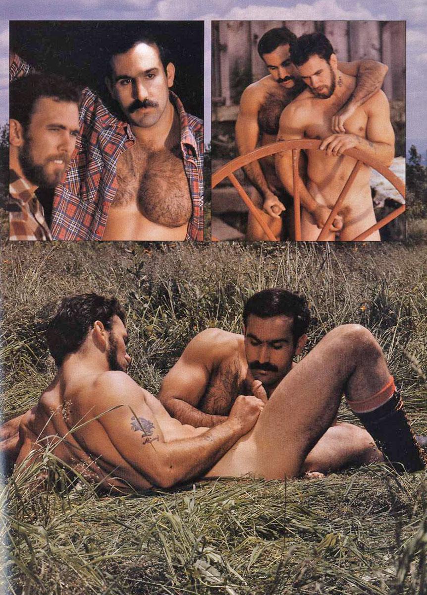 Bull Dozier Bruno vintage gay hot daddy dude men porn