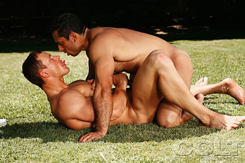 Adam Champ fuck Chris Wide gay hot daddy dude men porn