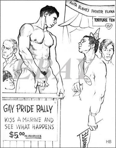 gay hot daddy dude men porn erotic art harry bush