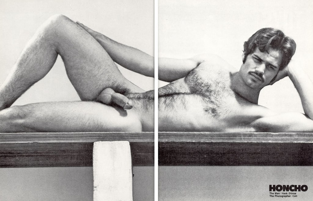 Hank Ditmar vintage gay hot daddy dude men porn