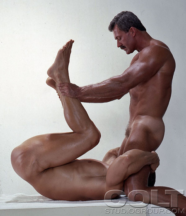 Neal Shaw fuck Frank Vickers Buckshot vintage gay daddy dude men porn