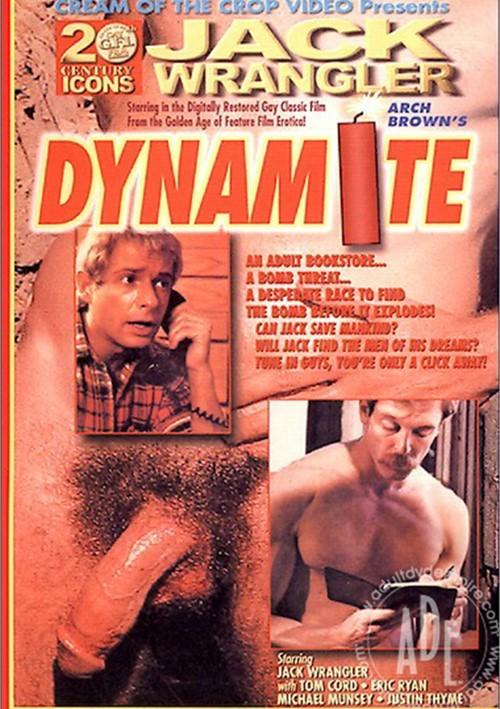 Jack Wrangler bareback fuck Eric Ryan vintage gay hot daddy dude men porn dynamite
