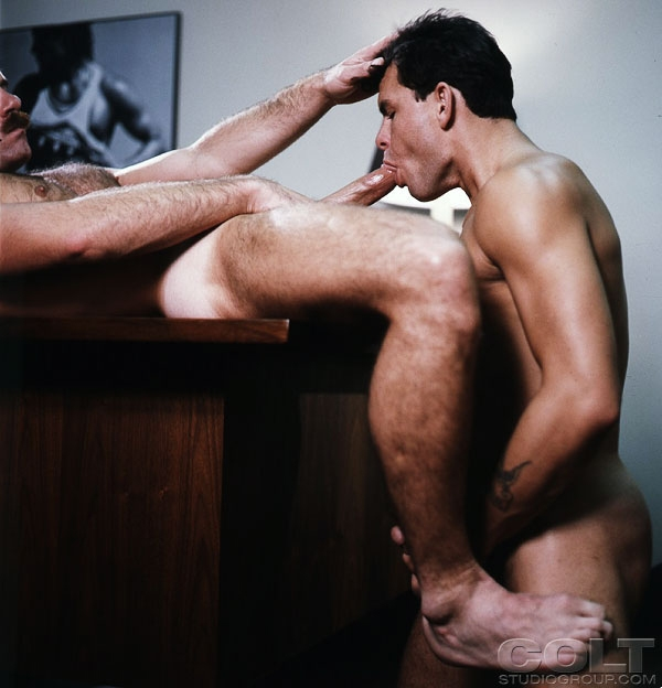 Glenn Steers fuck Cole Taylor vintage gay hot daddy dude men porn The Company We Keep