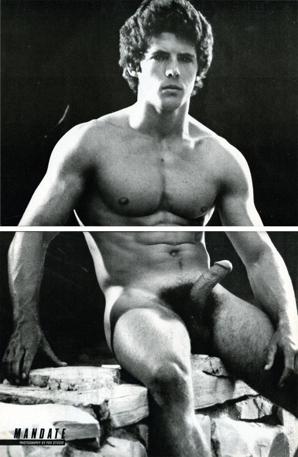 Jimmy Metz vintage gay hot daddy dude men porn
