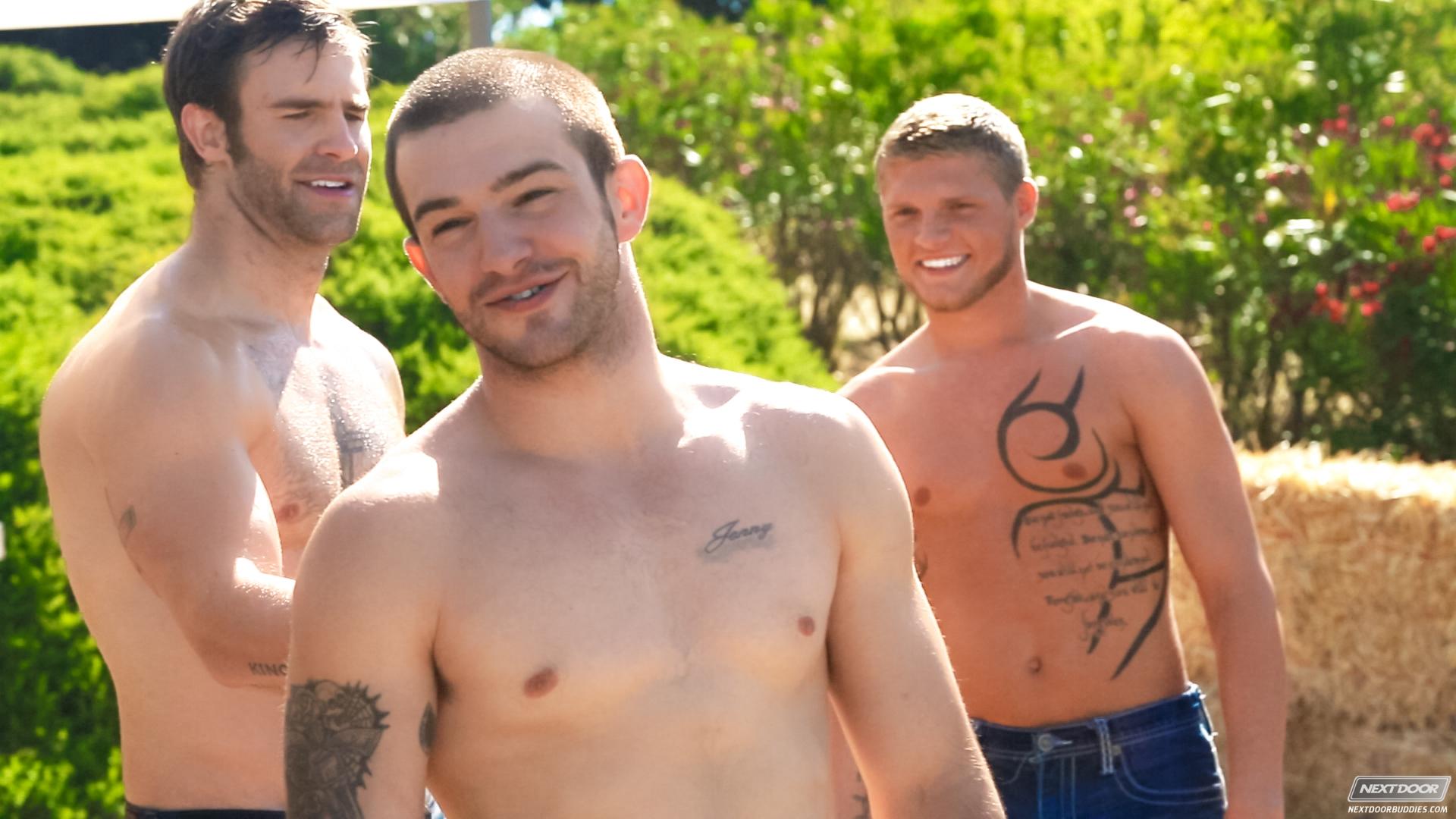 Liam Magnuson fuck Christian Cayden gay hot daddy dude men porn Gimme Five