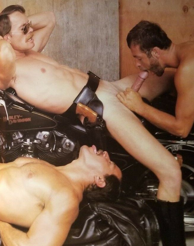 Clint Lockner Mark Rutter Mickey Squires vintage gay hot daddy dude men porn Trapped