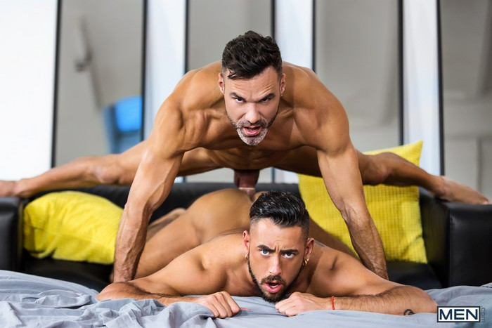 Manuel Skye fuck Massimo Piano gay hot daddy dude men porn The Genie