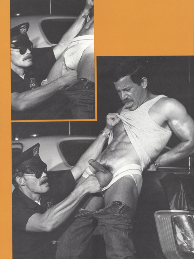 Clint Lockner Mickey Squires vintage gay hot daddy dude men porn trapped