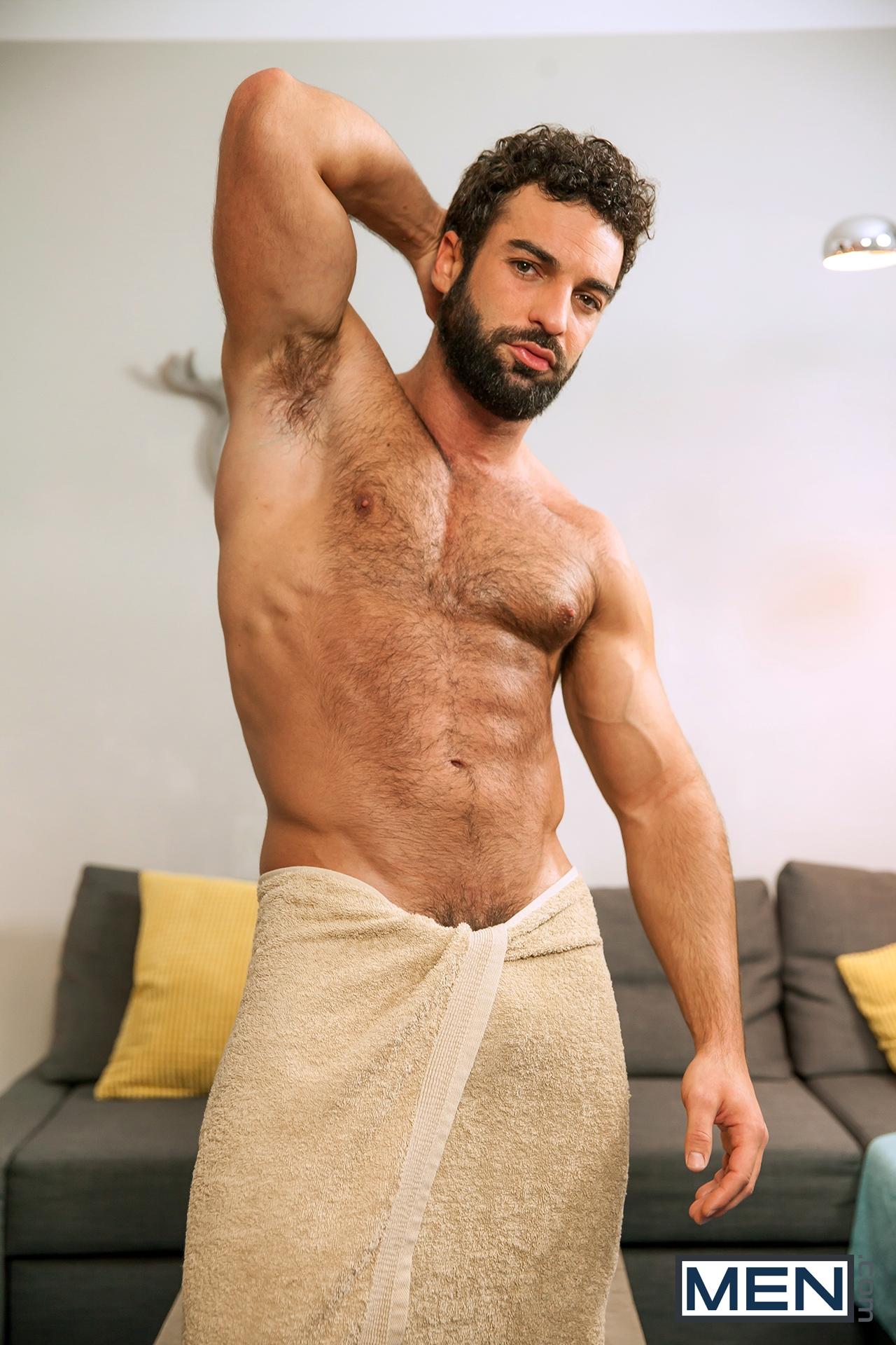 Abraham Al Malek gay hot daddy dude porn