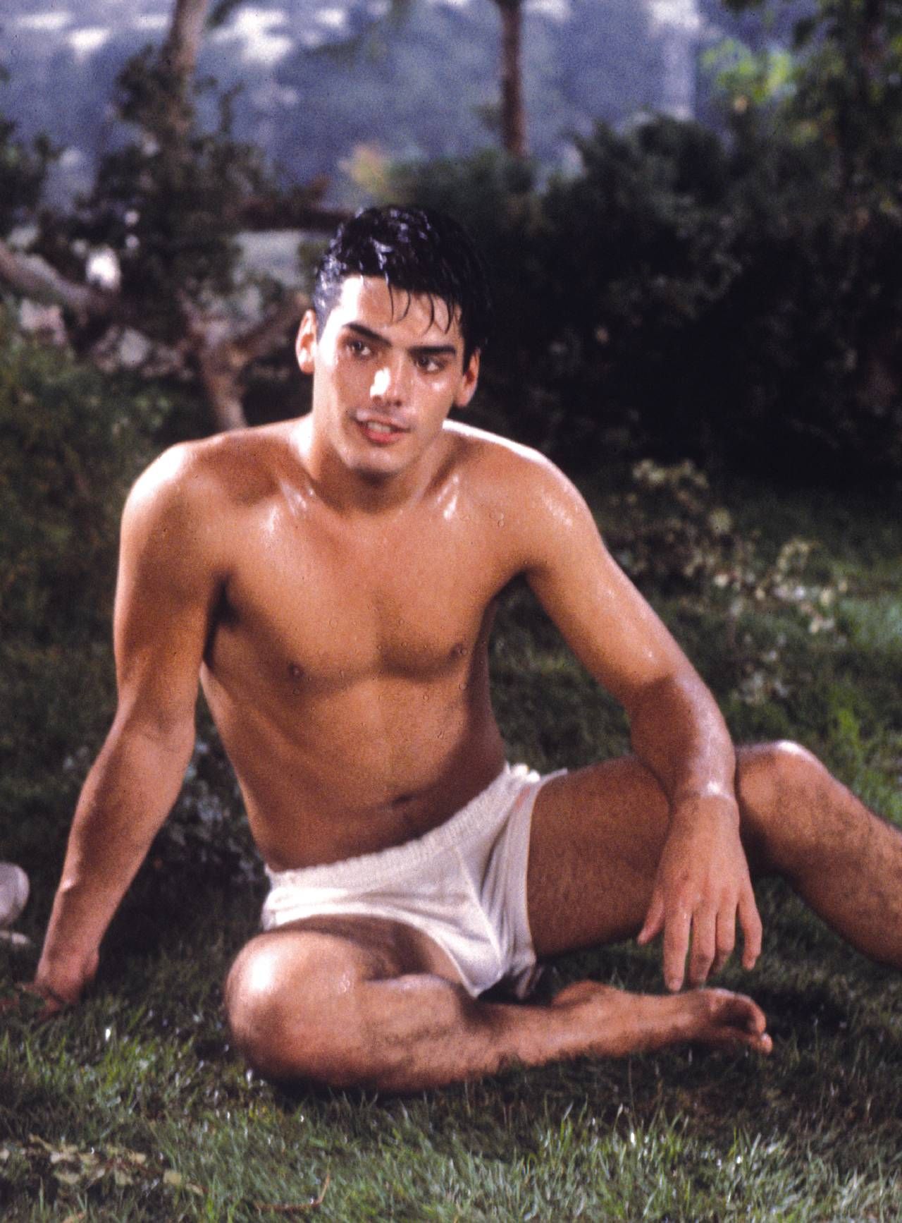 Brian Maxon Jeff Pirelli Leigh Erickson vintage gay hot daddy dude men porn Sizing Up