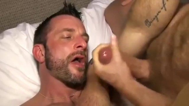 Tim Kruger fuck Morgan Black gay hot daddy dude porn TimTales