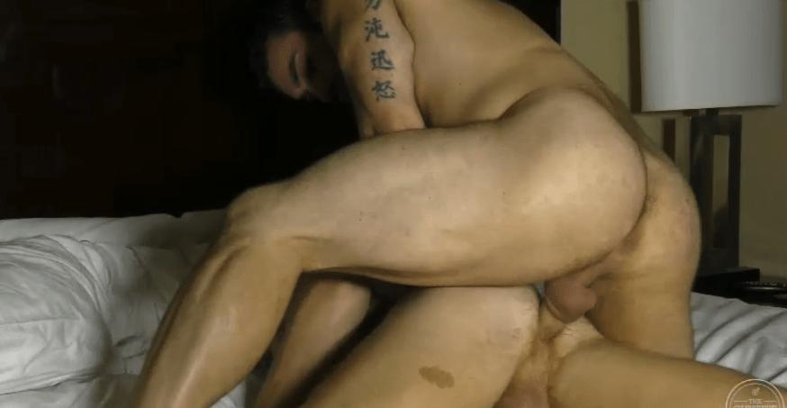 Jaxton Wheeler bareback fuck Bennett Anthony flipfuck gay hot daddy dude men porn Guy Site