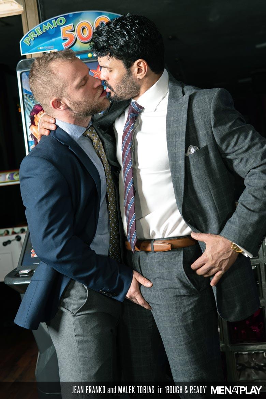 Jean Franko fuck Malek Tobias gay hot daddy dude men porn Rough and Ready