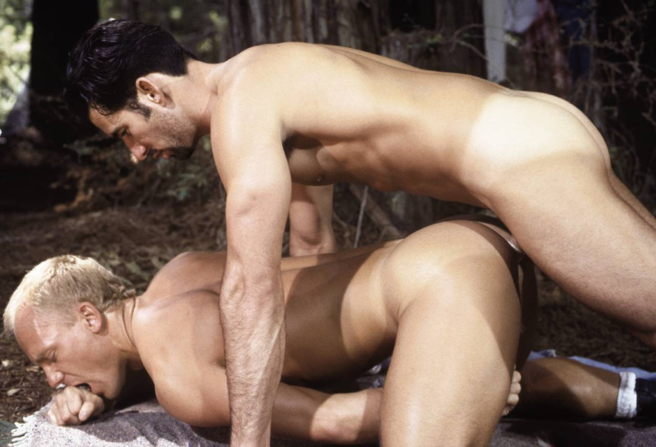 Cliff Parker fuck Kip Harting gay hot daddy dude men porn Wild Country