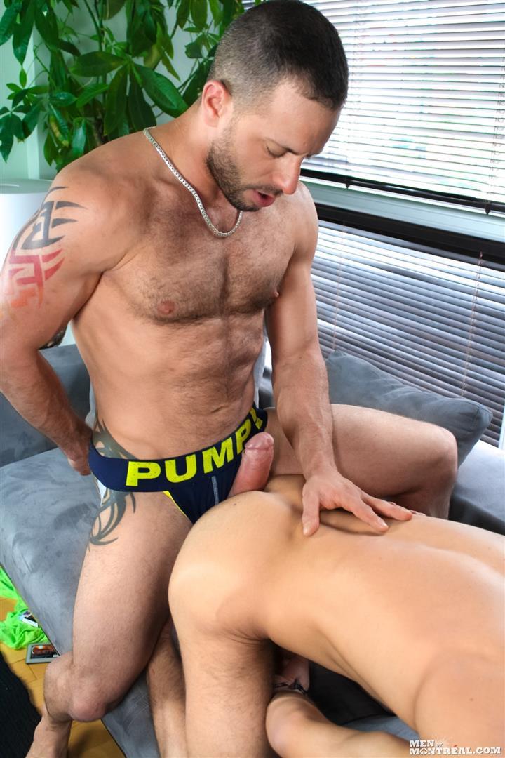 Brad Rioux Marco Gagnon flip fuck gay hot daddy dude porn Men of Montreal
