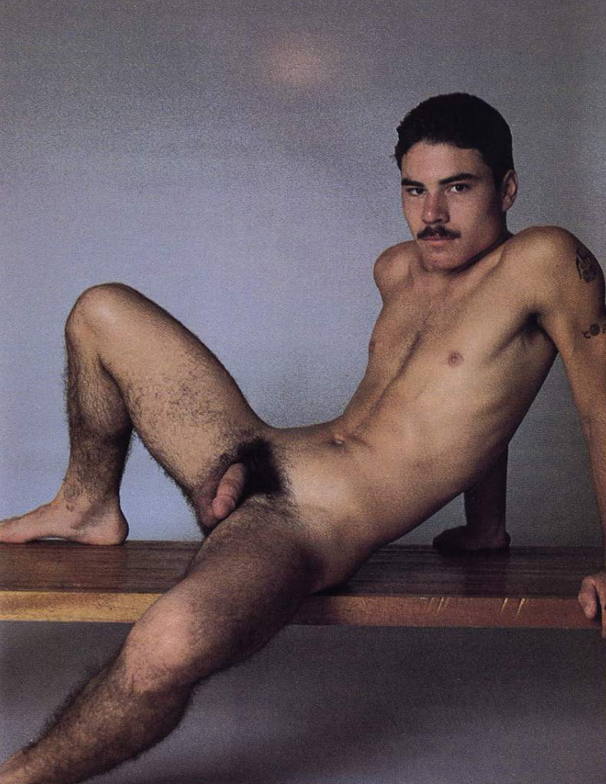Brian Diaz vintage gay hot daddy dude men porn