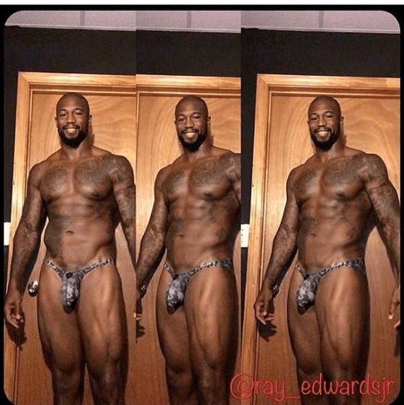 Ray Edwards hot ripped daddies dudes men